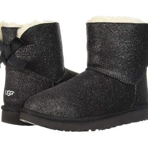 UGG Mini Bailey Sparkle Boot Womens 10